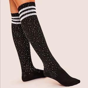 Rhinestones socks